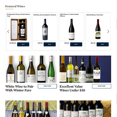Sotheby's Wine Home Page